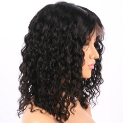 250% High Density Human Wigs with Baby Hair for Black Women Natural Hair Line