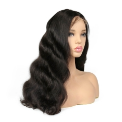 250% Density Wigs Body Wave Pre-Plucked Human Hair Wigs Glueless Full Lace Wigs Natural Hair Line