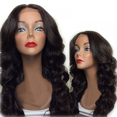 Loose Body Wave 250% High Density Long Hair Brazilian Virgin Human Hair In Stock