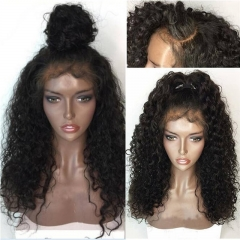 13x6 Deep Part Brazilian Curly Lace Front Human Hair Wigs With Baby Hair For Black Women Remy Hair Pre Plucked Full Lace wig