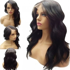Deep Free Parting Body Wave Lace Front Wig Brazilian Hair 130 Density Glueless Wavy Lace Front Human Hair Wigs For Black Women