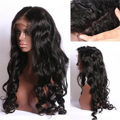 Peruvian Deep Wave 13x6 Glueless Lace Front Wig 150 Density