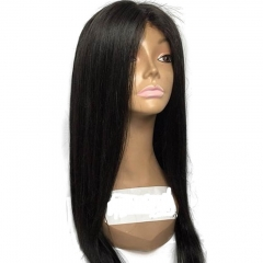 13x6 Lace Front Wig Remy Brazilian Hair Human Hair Wigs Silky Straight Deep Parting Glueless Lace Wig For Black Women 130% Density