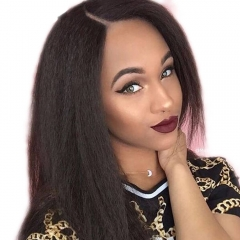 Lace Front Wigs Full Lace Human Hair Wigs Kinky Straight Peruvian Full Lace Wigs