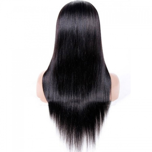 Light Yaki Full Lace Human Hair Wigs For Black Women Brazilian Hair Pre Plucked Bleached Knots 32 inch