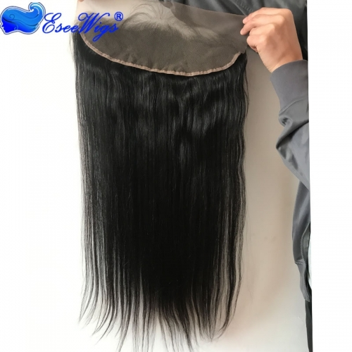 28 inch Customized Length 13X4 Lace Frontal 1 Month Brazilian Virgin Human Hair