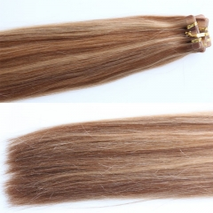 Hotsale Unprocessed Virgin Malaysian Hair Piano Color Tape In Hair Extensions Straight Adhesive Tape Hair 27/30 color