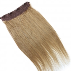 Flip Hair For White Women Cambodian Virgin Hair Straight Human Hair Fish Line Hair Extension