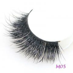 3D Mink Eyelashes 1 Pair 2 pcs More Natural Hand Make Lashes Eyelash Magnetic Eyelashes