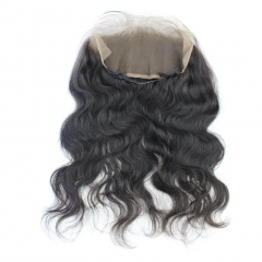 8A Brazilian Human Hair 13x4 360 lace frontal with bundles Hair Extension Body Wave 360 lace Band virgin hair 4pcs/lot 22x4inch