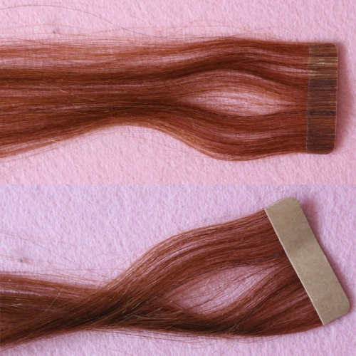 Tape In Hair Extension 100% European Hair Tape Hair Extension 40pcs 3cm Adhesive Tape Hair Weave