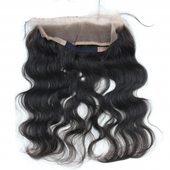 New Style 8A Grade 360 Lace Frontal Closure 13X2 Back With Adjust Strap Brazilian Hair Body Wave 360 Lace Band 22x2 In
