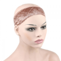 Wig Grip Flexible Velvet Wig Band Scarf Head Hair Band Adjustable Elastic Comfort Headband Faster
