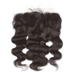 8A 13X6 Lace Frontal Closure Ear To EarLace Frontal Body Wave with Baby Hair Peruvian Unprocessed Virgin Human hair in stock