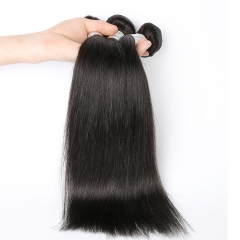 Natural Color Slik Straight Peruvian Virgin Human Hair Waves 4pcs Bundles