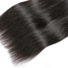 Silky Straight Bundle 1Pcs Hair Extension Brazalian Virgin Human Hair 100% Human Hair