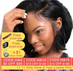 Short Bob Lace Front Wigs Natural Wave Peruvian Virgin Hair Wig Glueless Full Lace Human Hair Wigs For Black Women