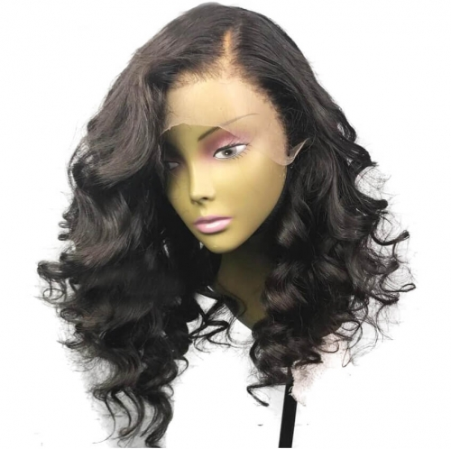 Silk Base Full Lace Wigs For Black Women Loose Wave Glueless Human Hair With Baby Hair Natural Hair Line