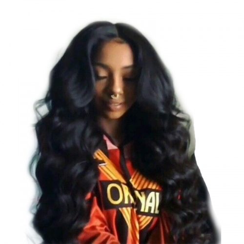 250% Density Wig Pre-Plucked Body Wave Full Lace Human Hair Wigs Natural Hair Line with Baby Hair