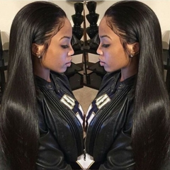 360 Lace Frontal Wigs Pre Plucked Straight 100% Human Hair Wigs Natural Hair With Baby Hair Line Wigs 360 Lace Wig