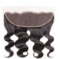 Cheap Real Human Hair Body Wave Ear To Ear Lace Frontal With 3 Bundles