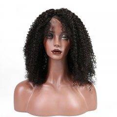 Afro Kinky Curly 13x6 Full Head Lace Front Wigs 250 Percent High Density for African American Women