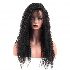 180 Percent High Density Lace Front Wig Kinky Curly Wigs for Natural Hair with Baby Hair Pre Plucked
