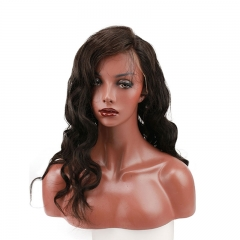 Loose Wave Real Human Hair 250 High Density Lace Front Wig for Women