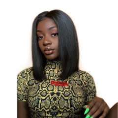 Bob Full Lace Wig With Baby Hair For Black Women full lace african american wigs