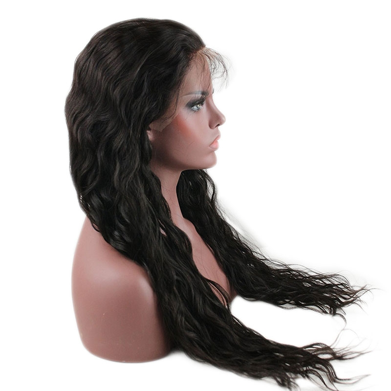 0842752d118 Wet And Wavy Wigs Full Lace Wigs Human Hair For Black Women Wet Wavy Lace  Front Human Hair Wigs With Baby Hair Glueless Full Lace Wig