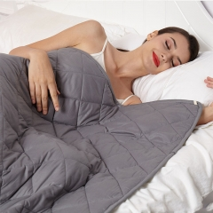 "Weighted Blanket 60""x80"" 25lbs New Concept of Sleep, Comfortable Sleeping, Warm and Close-Fitting for Adults"