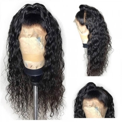 360 Lace Frontal Wig Pre Plucked with Baby Hair Loose Wave Brazilian Hair Wig 150 Density Remy Black for Women 180%