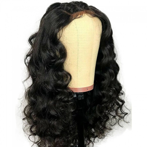 180 Density Lace Front Wig Loose Deep Wave Wigs for Women Pre Plucked with Baby Hair Brazilian Remy Human Hair