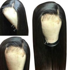 Eseewigs 13x6 Lace Front Wig Straight Brazilian Remy Hair Lace Wig Pre Plucked Hair Line with Natural Baby Hair For Black Women