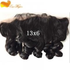 Eseewigs Ear to Ear Lace Frontal with Baby Hair 13X6 Loose Wave Lace Frontal For Black Women Pre Plucked Peruvian Remy Hair