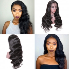Lace Front Human Hair Wigs With Baby Hair Body Wave Body Wave 150% Density Wigs
