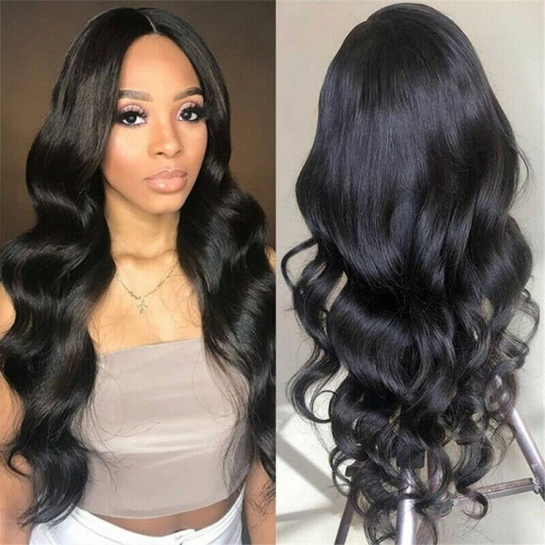 Lace Front Human Hair Wigs Brazilian Body Wave Glueless Full Lace Wigs Pre Plucked for Black Women 360 Lace Frontal Wigs