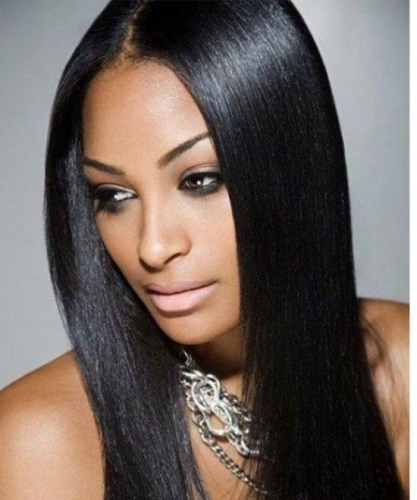 Light Yaki 370 Lace Frontal Wig Brazilian Human Virgin Hair Wigs Pre Plucked With Baby Hair