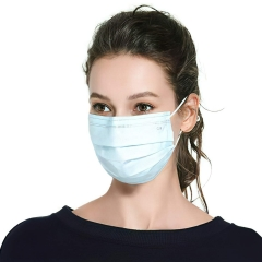 100 Pcs Disposable 3-Layer Masks Anti Dust Breathable Disposable Ear-Loop Mouth Face Mask (US Stock 3-5 days Fast Delivery)