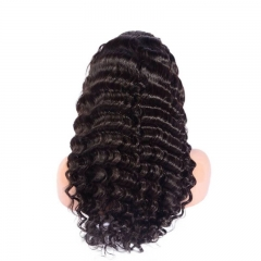 360 Lace Frontal Wigs Loose Deep Wave 180% Density Circular Lace Front Wigs 100% Huamn Hair Wigs Natural Hair Line