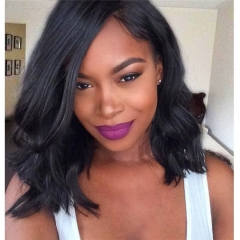 My Precious Short Bob Wig Brazilian Lace Front Wig Bob Human Hair Body Wave with Baby Hair Glueless wig for Black Women