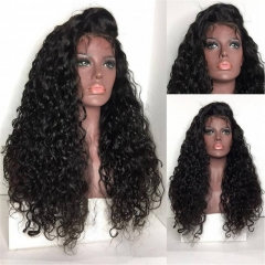 Lace Front Human Hair Wigs For Black Women Pre Plucked Brazilian Remy Hair Front Lace Wig Curly Wigs With Baby Hair
