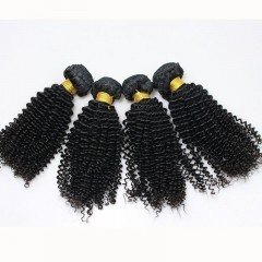 Brazilian Human Hair Weave 3B3C Kinky Curly Extensions 3 Bundles 28inch