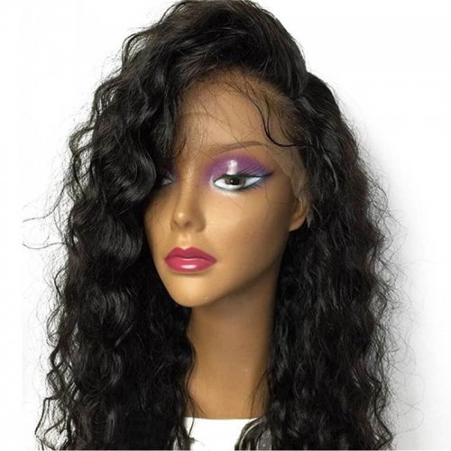 Best Silk Top Lace Wigs Loose Wave 130% Density Silk Base Full Lace Wigs For Black Women Human Hair Wigs