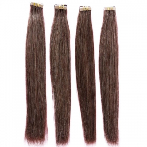 33# Brown Color Micro Tape And Hair Extension Great Length Fusion Tape Virgin Hair Double Sided Tape Hair Extensions