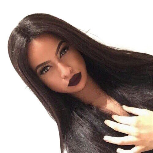 Glueless Silk Base Top Full Lace Wigs Silk Straight Glueless Full Lace Silk Base Wigs?For Black Women