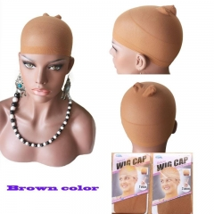 12bags (24pcs) Deluxe wig cap hairnets FOR WIG WEARERS Superior quality, brown , Beige, Black color in stock .