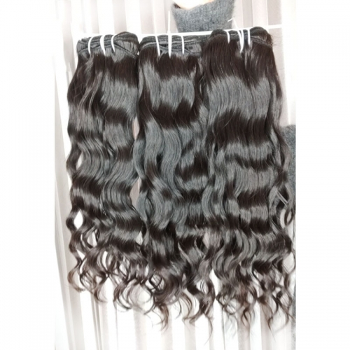 New Arrival Grade 12A Virgin Cuticle Aligned Cambodian Hair, Wavy Hair Bundles Raw Cambodian Hair Vendors Sale 8-32Inch