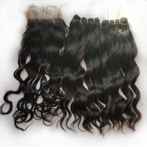 Grade 12A Cambodian Loose Deep Curly Hair, 100% Unprocessed Human Raw Virgin Cuticle Aligned Hair Can Be Bleached
