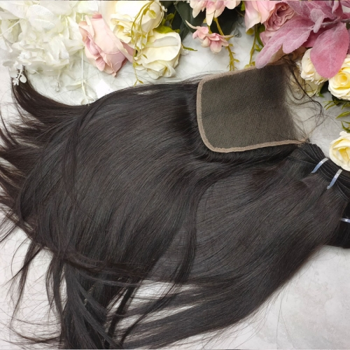 Fuller 12A Raw Cambodian Hair Unprocessed Straight Hair Natural Color Straight Human Hair Weave Bundles No Tangle No Shedding